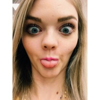 I gave my sister my phone to take pics while shopping for my maid of honor dress and...