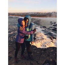 Happy birthday to one of my best friends @angiemclarke 🎈 thanks for always being down to adventure with me, from tent rocks in New Mexico to waterfalls in Iceland and everywhere in between ❤️