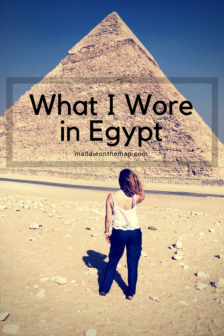 What I Wore in Egypt