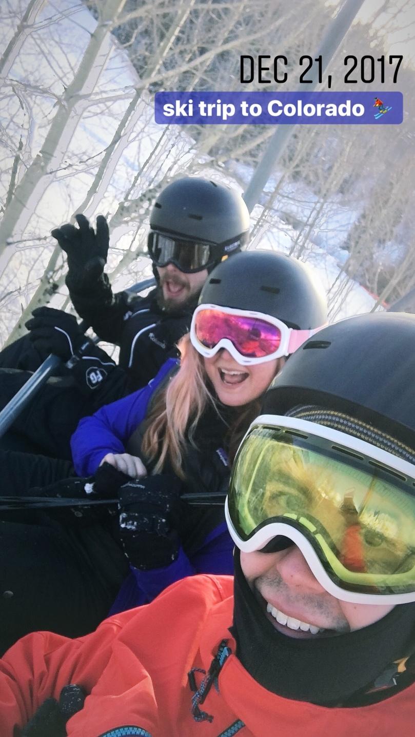 ski trip to Colorado